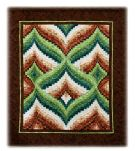 A Bargello quilt in our 2011 Exhibition